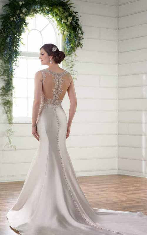 6 Super Wedding Dresses Mermaid! Get Something Unique In Your Wedding