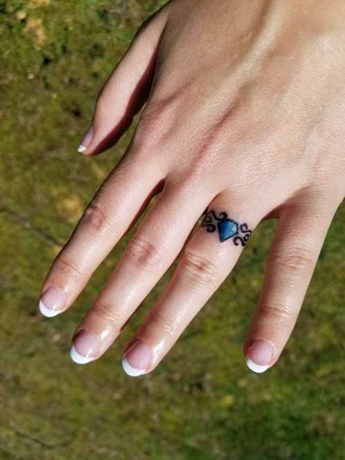 14 Most Used Wedding Ring Tattoo Ideas You'll Want to Copy